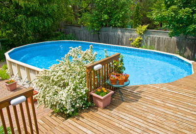 Add an above ground pool deck to your Waukesha home
