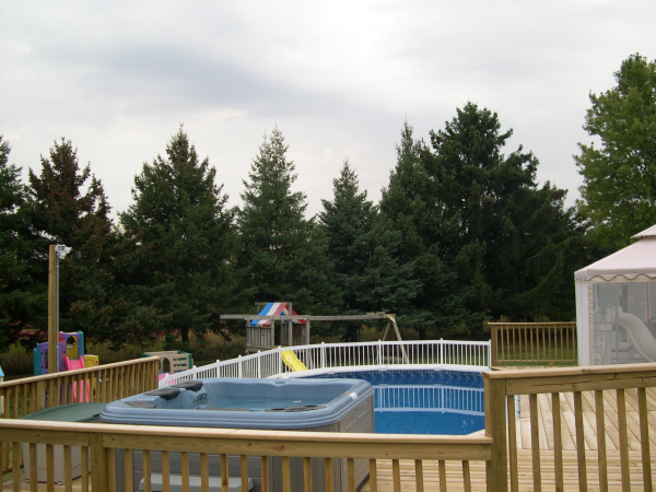 Elkhorn Hot Tub And Pool Installation Above Ground Pools