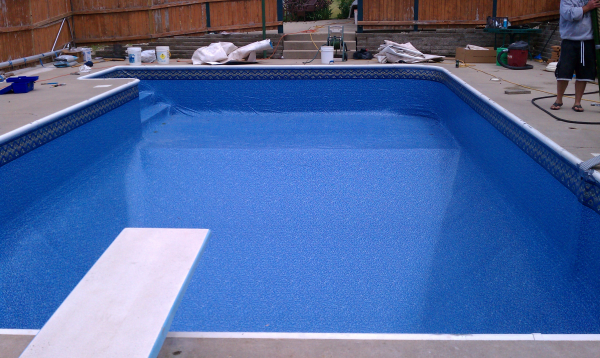 Eagle Replacement Liner Poolside Pools Spas Llc North Prairie Wisconsin