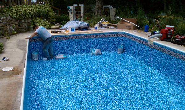 replacement inground vinyl pool liners bing images