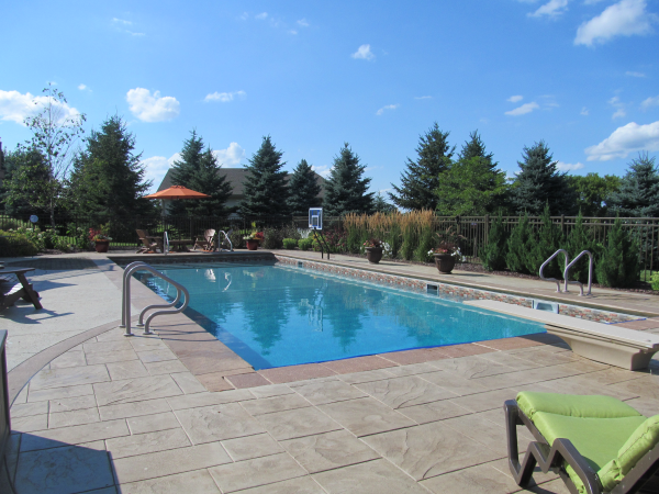 Muskego In Ground Pool Design And Install Swimming Pool