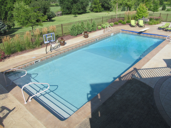 In Ground Pool Design And Installation Brookfield Pool