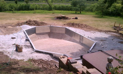 Inground Pool Design and Installation Waukesha County, Mukwonago, Pewaukee, Hartland, Occonomowoc, Wales