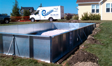 Waukesha inground swimming pool design and installation
