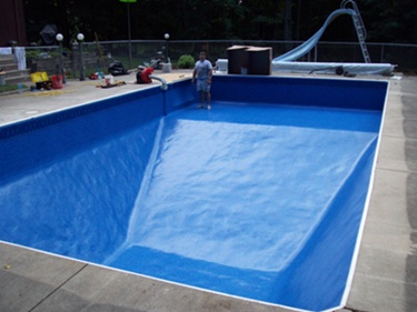 pool liner replacement and other pool maintenance services in Mukwonago
