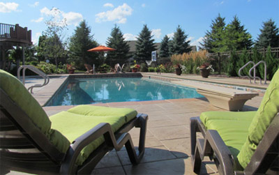 Oconomowoc inground swimming pool design and installation