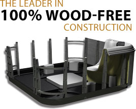 The Leader in 100% Wood-Free Construction